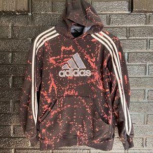 Vintage Adidas acid wash hoodie size large